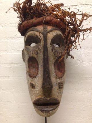 Nigeria : Old Tribal - African - Igbo Mask. photo