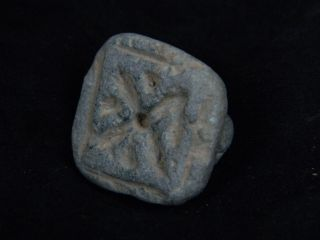 Ancient Stone Seal Bactrian 300 Bc Stn5081 photo