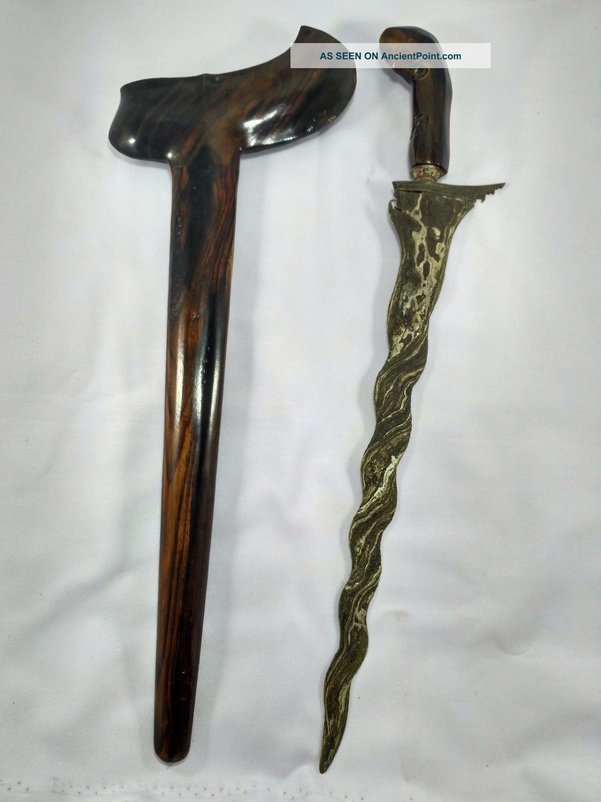 Javanese Keris / Kris Indonesia Sword Dagger K.  001 Pacific Islands & Oceania photo