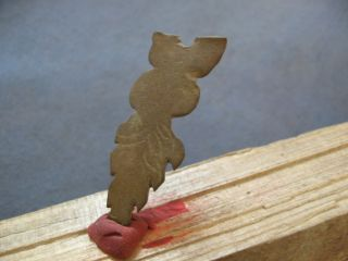 Stylized Leaf Ancient Celtic Decoration 600 - 400 B.  C. photo