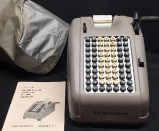 Antique Smith - Corona Non - Electric Adding Machine photo