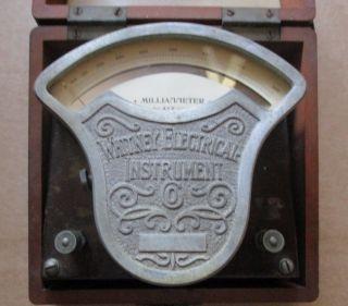 Vintage 1906 Whitney Milliammeter W/case photo