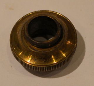 Brass Microscope Objective Adaptor - External Thread To Internal Thread photo