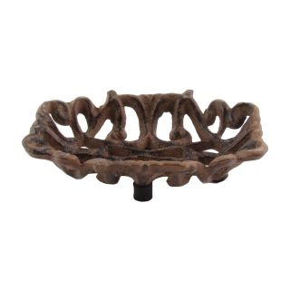 Antique Style Cast Iron Bathroom/kitchen Soap Dish Tray Holder Rustic Home Decor photo