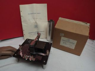 Hall Effect Apparatus ( (for Metals))  Griffin & George (box),  Ins photo