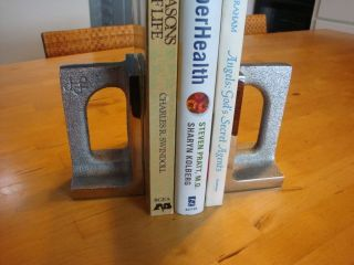 Bill Curry Bookends For Design Line Mid Century Modern photo