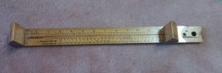 Vintage Ritz Children Adult Shoe Size Measuring Stick.  Made In U.  S.  A photo