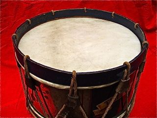 Victorian Life Guards Snare Drum - 100 / Very Rare photo