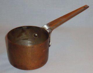 Georg Jensen - Henning Koppel - Taverna Copper Cooking Sauce Butter Pot photo