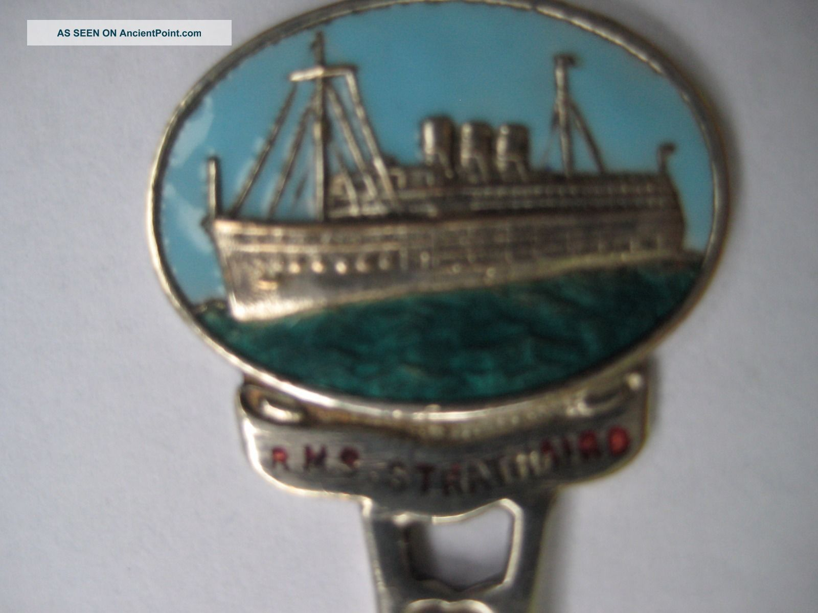 Rms Strathaird Collectible Antique Spoon 1930 ' S E.  P.  N.  S P,  O Ship Other Maritime Antiques photo