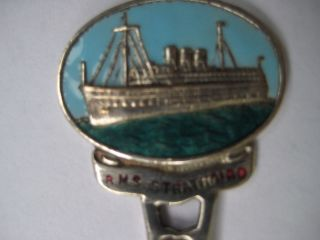 Rms Strathaird Collectible Antique Spoon 1930 ' S E.  P.  N.  S P,  O Ship photo