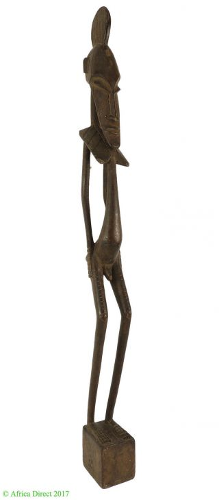 Senufo Male Skinny Côte D ' Ivoire African Art 26 Inch photo