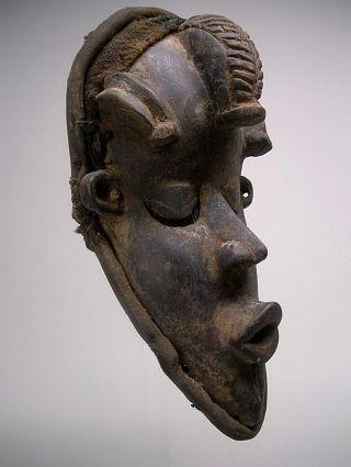 A Bassa Gela Mask From Liberia photo
