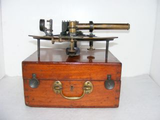 Fine Sextant By Ross Of London,  Class A,  No.  1998 With Telescopes,  1903. photo