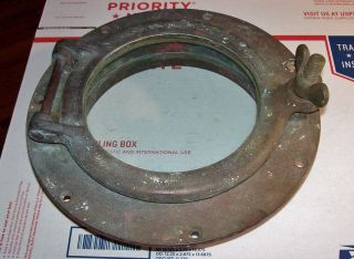 Antique 1920 ' S Wilcox&crittenden Bronze Boat Porthole All And Beauty photo