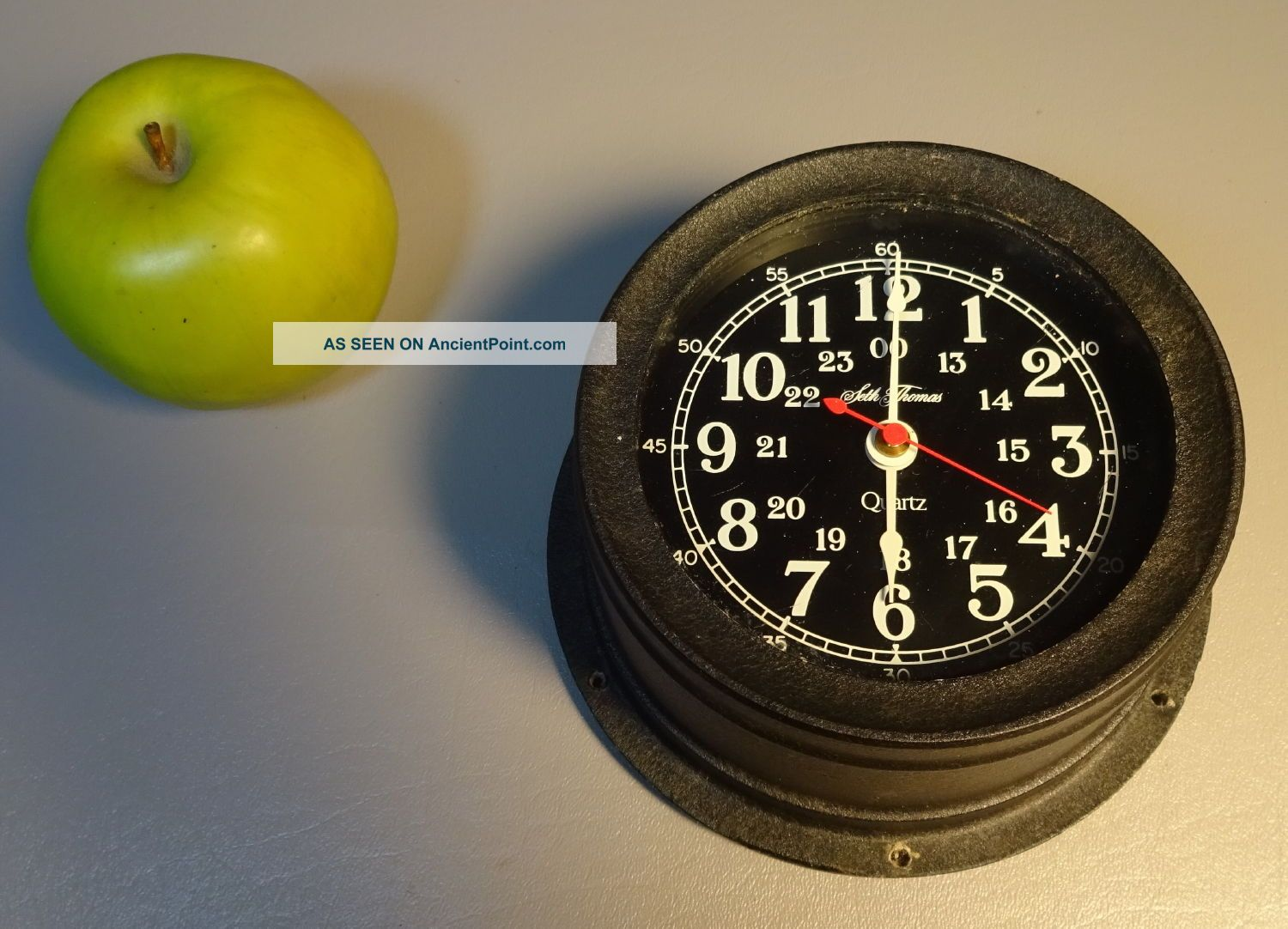Maritime Ships Clock Seth Thomas Seasprite Model 1028 Quartz 1981 Clocks photo