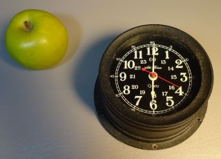 Maritime Ships Clock Seth Thomas Seasprite Model 1028 Quartz 1981 photo