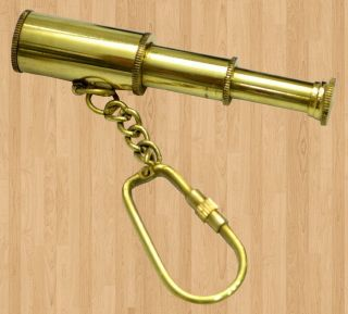 Brass Telescope,  Key Chain Of 100pcs photo