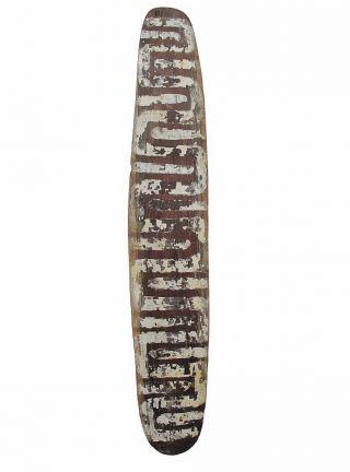 Antique Aboriginal Old Western Desert Shield 74cm photo