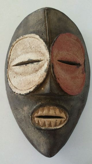 An Unusual Early 20th Century Tribal Mask photo