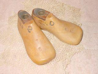 Antique Vintage Kempton 188 Size 2d Childs Cobbler ' S Wood Shoe Mold Forms photo