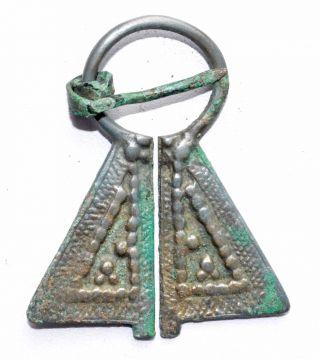 Stunning Viking Bronze Penannular Brooch / Fibula - Historical Gift - St57 photo