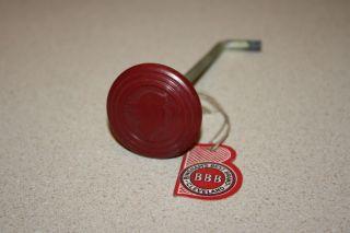 Vintage 1930s Speed Queen Washing Machine Knob,  Nos Bakelite Mercury Logo photo
