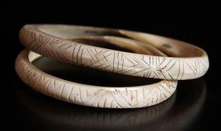 Guinea Highland Decorated Shell Armbands photo