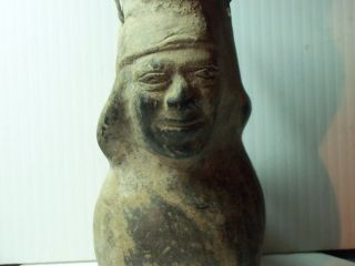 Pre - Columbian Pottery/ Figurine - Costa Norde - Peru - Vicus Influences photo