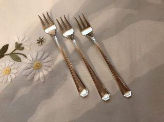 Gorham Fairfax Sterling Cocktail Forks (3),  5 - 5/8