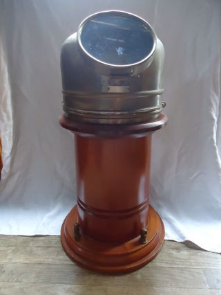 Antique Lilley & Reynolds,  Navigational Binnacle Pedestal 1932 - 1943 London Ej3. photo