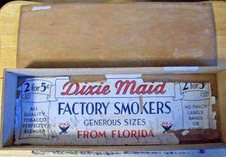 Vintage Florida Wood Cigar Box 6