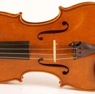 Old Italian Violin A.  Poggi 1969 Geige Violon Violino Violine Viola ヴァイオリン 小提琴 photo