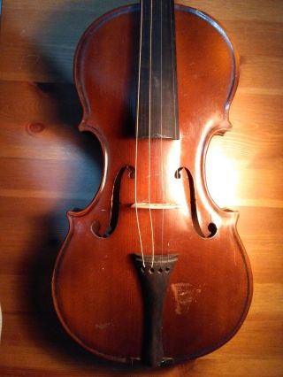 Old Antique Violin,  19th Century,  By Martin Stoss 1812 photo