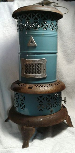 American Made Antique 1900 ' S Perfection Smokeless Oil Heater/stove No 630 photo