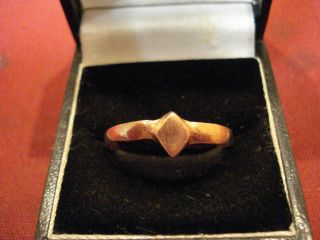 Ancient Roman Large Copper Ring - - Detector Find photo
