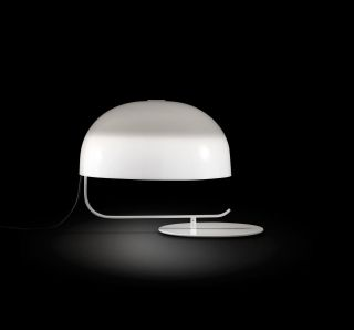 Zanuso 275 White Table Lamp By Marco Zanuso For Oluce,  1963 photo