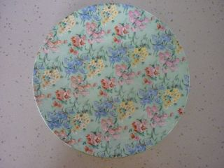 Shelley ' Melody ' 24cm Cake Plate photo