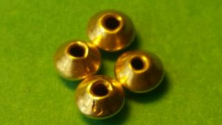 Viking 4 Solid Gold Disc Beads 4mm photo