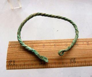 Ancient Bronze Bracelet (k563). photo