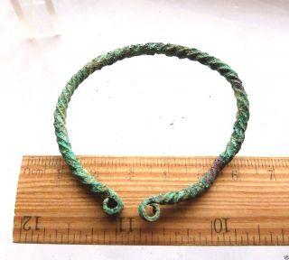Ancient Bronze Bracelet (k564). photo