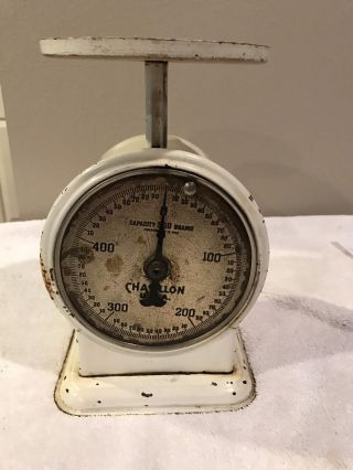 Vintage Chatillon Usa Kitchen Scale 500 Grams photo