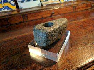 Fine Neolithic Stone Axe Head photo