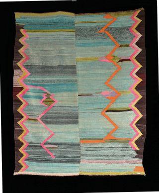 Extravagant Textile Art Antique Andean Indian Blanket Tm12196 photo