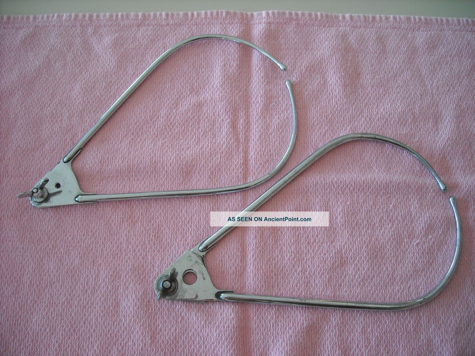 2 Calipers 1940s Medical Instrument Baby Head Measurement Other Medical Antiques photo