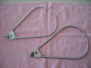 2 Calipers 1940s Medical Instrument Baby Head Measurement photo