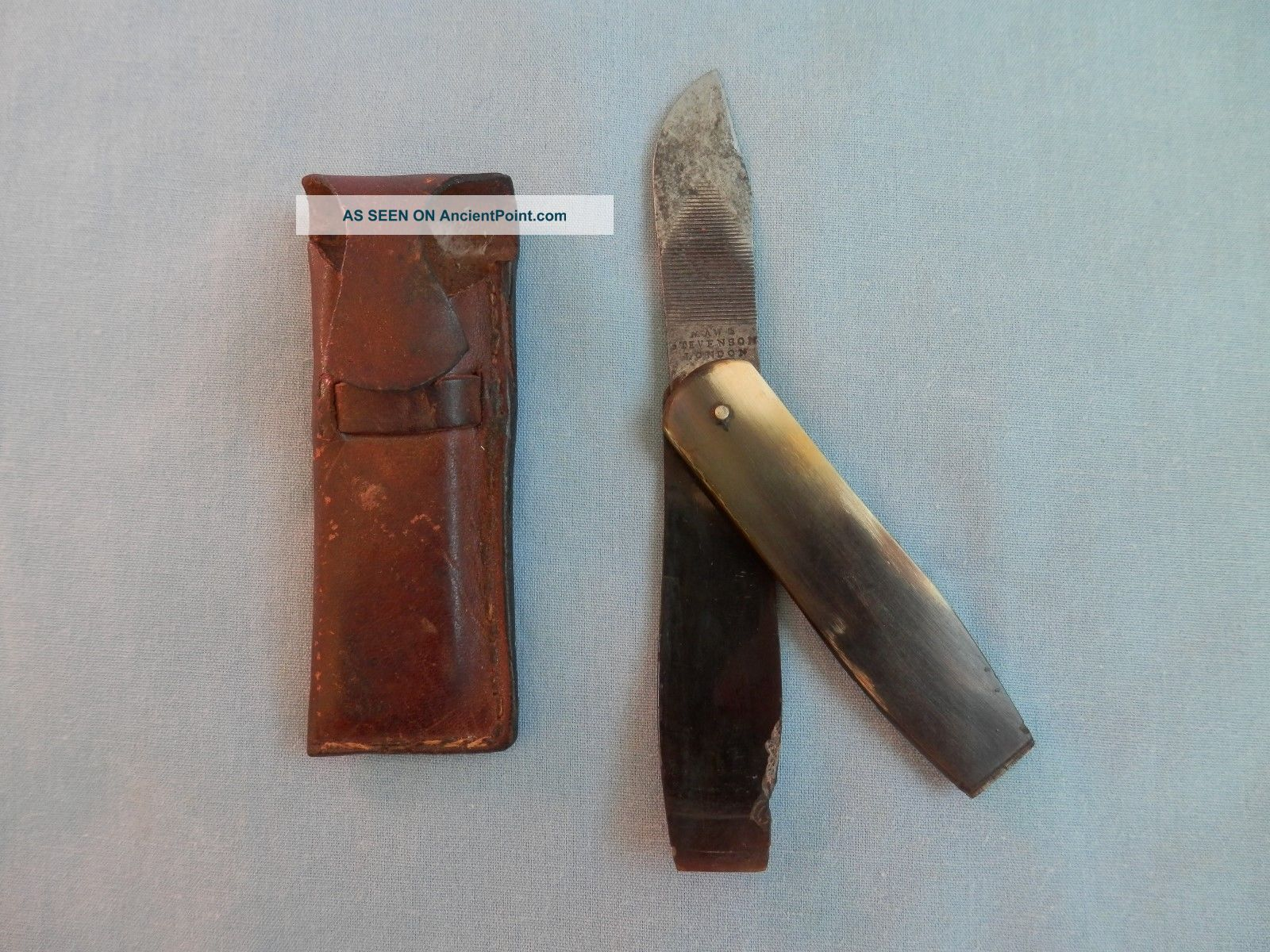 Antique Pocket Scalpel Or Vets Or Post Mortem.  Maw And Stevenson 1841 - 1843 Other Medical Antiques photo