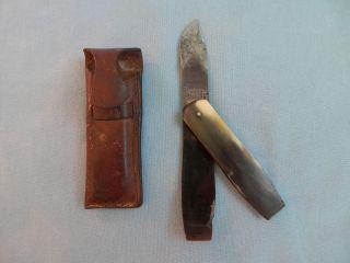 Antique Pocket Scalpel Or Vets Or Post Mortem.  Maw And Stevenson 1841 - 1843 photo