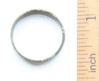 Medieval Ornament Bronze Finger Ring (mar10) photo