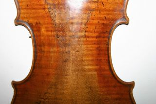 Old Antique Well Played Italian? Violin For Repair Label Guarnerius Venise 172? photo